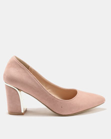 Utopia Metal Trim Courts Pink