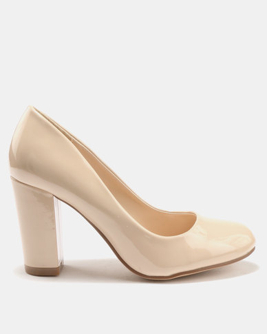 Utopia Court Shoes Nude