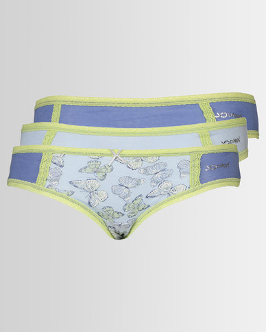 Jockey Bikini 3 Pack Panties Multi
