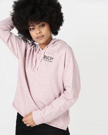RVCA Glance Hoodie Pink