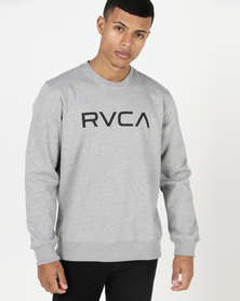 RVCA Big RVCA Crew Athletic Heather Grey