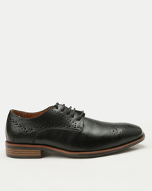 Steve Madden Gable Oxfords Faux Leather Black