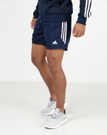 adidas Performance Essential 3 Shorts Chelsea Collegiate Navy/Off White