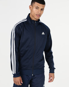 adidas Performance ESS 3S Tracksuit Top Tri Blue