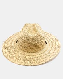 Billabong Tides Straw Hat Tan Brown