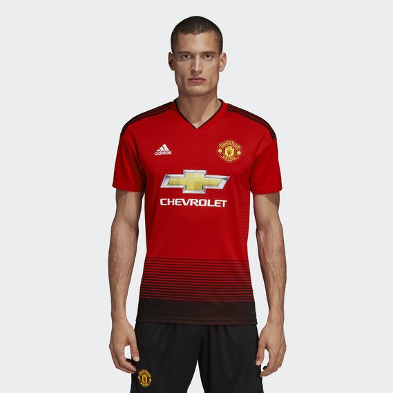 new style 44a9b 8d54a Manchester United Home Replica Jersey
