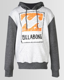 Billabong Dream Contrast Hood Grey Marle / Charcoal Heather