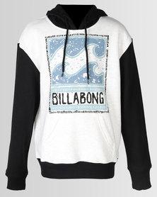 Billabong Dream Contrast Hood LT Grey Heather / Black