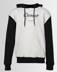 Element Rockies Contrast Hoodie Grey Marle/Indigo