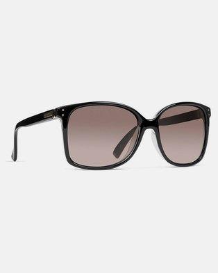cff469bc98d Von Zipper Castaway Sunglasses Black Crystal Gradient