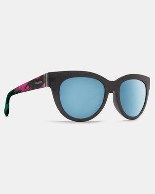 6091fa436c Von Zipper Queenie Sunglasses Cosmic Mint Chrome