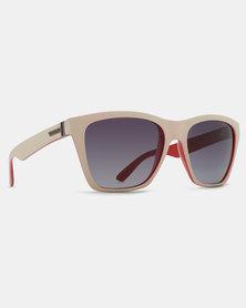Von Zipper Booker Sunglasses Sand Ruby/Grey Gradient