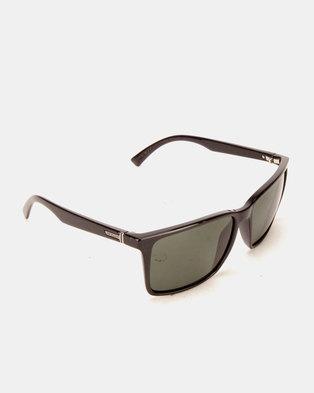 af94bb748be Von Zipper Lesmore Sunglasses Black Gloss Vintage Grey