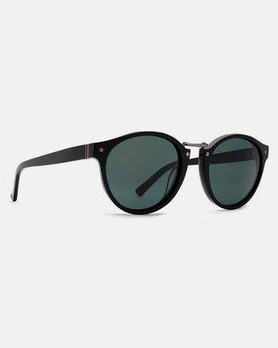 54323ac1d1 Von Zipper Stax Sunglasses Black Gloss Vintage Grey