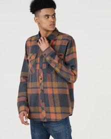 Billabong Ventura Flannel LS Shirt Blue