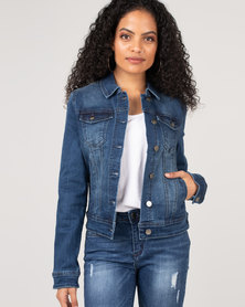 Sissy Boy Denim Jacket Med Blue