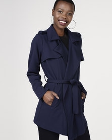 Sissy Boy Soft Waterfall Jacket Navy