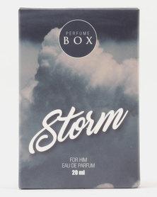 Perfume Box Storm Cologne 20ml