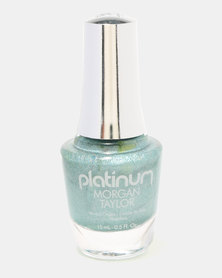 Morgan Taylor Disco Days Nail Polish Green Holographic