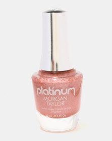 Morgan Taylor Glow All Out Nail Polish Orange Holographic