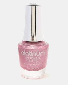 Morgan Taylor Holo Lover! Nail Polish Pink Holographic