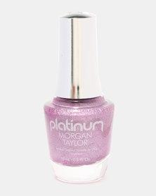 Morgan Taylor It's Lit! Nail Polish Lilac Holographic