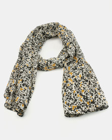 Joy Collectables Light Weight Printed Scarf Multi Colour