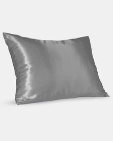 Dear Deer Satin Pillow Slip Grey