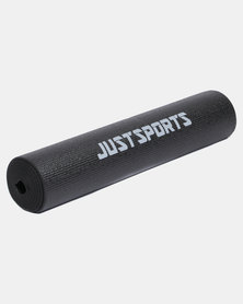 Justsports 6mm Thick Foam Yoga Mat Black