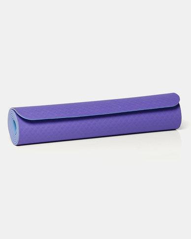 Justsports Eco-friendly TPE 6mm Yoga Mat Purple