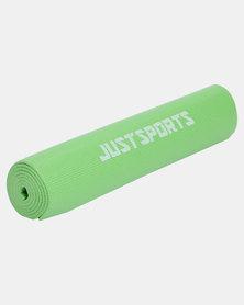 Justsports Foam Yoga Mat Thick 6MM Green
