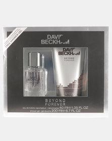 Beckham Beyond 40ml EDT + 200ml Shower Gel