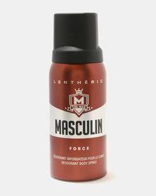 Lentheric Masculin Force Deodorant Body Spray 150ml