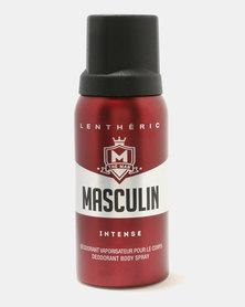 Lentheric Masculin Intense Deodorant Body Spray 150ml