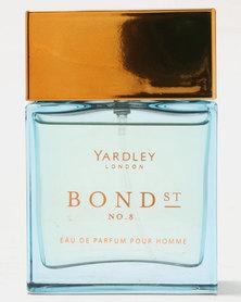 Yardley Bond Street Male No 8 Eau De Parfum 50ml