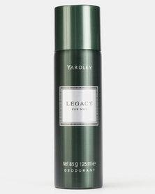 Yardley Legacy Deodorant Body Spray 125ml
