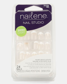 Nailene Nail Studio Full Cover Nails 24 EA Classic