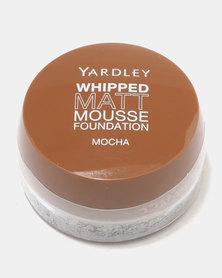 Yardley Whipped Matte Mousse Foundation Mocha