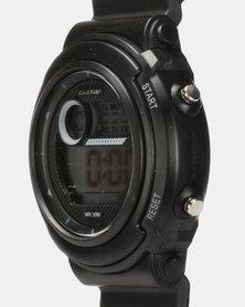Cool Kids Digital Funky Watch Black