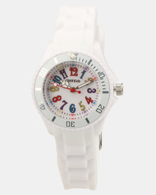 Cool Kids Neon Resin Watch White