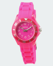 Cool Kids Neon Resin Watch Pink