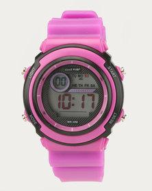 Cool Kids Digital Funky Watch Pink