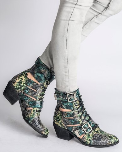 shop for for sale Jeffrey Campbell Jeffrey Campbell Raider Boot Green Snake get to buy cheap online outlet for sale high quality online official online 5kDs3AA
