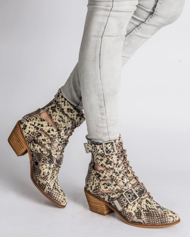 Jeffrey Campbell Jeffrey Campbell Raider Boot Beige Snake choice sale online cheap sale comfortable free shipping countdown package 7SUb6e