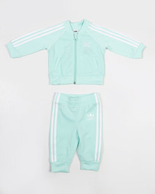 adidas Originals Baby I Track Set Mint