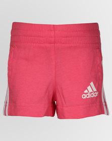 adidas Originals Girls Summer Shorts Pink