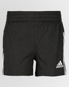 adidas Originals Girls Summer Shorts Black