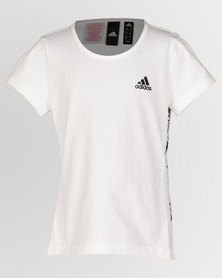 adidas Performance Girls ID Young VFA Tee White