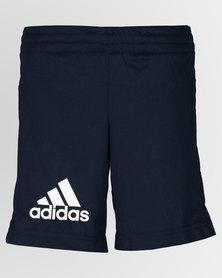 adidas Performance Boys Gear Up Knit Shorts Navy