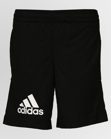 adidas Performance Boys Gear Up Knit Shorts Black